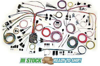 67-68 chevy camaro classic update american autowire wiring harness kit  500661