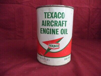 Vintage TEXACO Aircraft Engine Oil