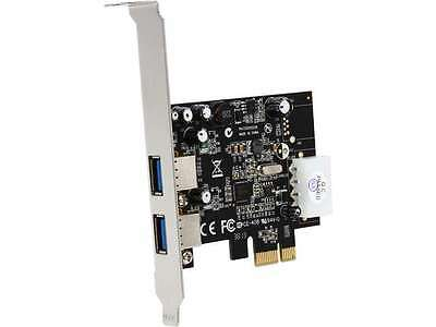 StarTech 2 Port PCI Express (PCIe) SuperSpeed USB 3.0 Card Adapter with UASP - L