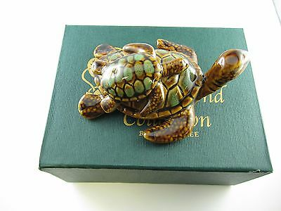 Golden Pond Collection - Ceramic turtle/ Handmade craft/ Perfect gift/ Fine art