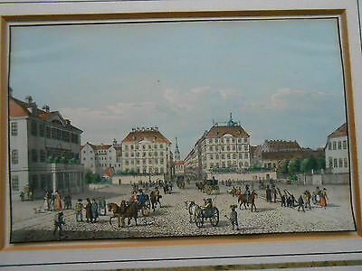 Johann Carl August RICHTER  Dresden PIRNAISCHER PLATZ  Nickel Zadow Nürnberg