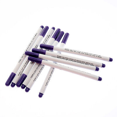 4pc Water Erasable Fabric Marker Pen Marking NoteTextile Ink Auto Vanishing Pen