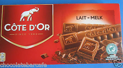 Cote D'Or Milk Chocolate 200G BAR FREE UK POSTAGE