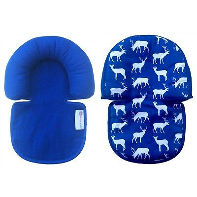Babychic Infant Reversible Head Support Highly Breathable 100% Cotton