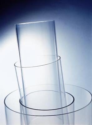 Acrylic Perspex OD120mm x 3mm x 1M Clear Tube Acrylic ExtrudedTube FREE POST
