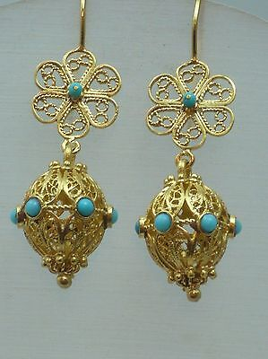 Vintage Middle eastern Earring +new element