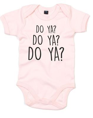 Do Ya?, Printed Baby Grow