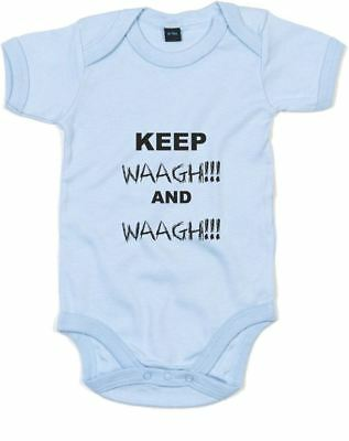 Keep Waagh and Waagh!, Printed Baby Grow