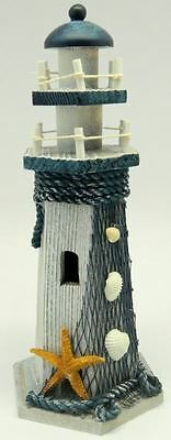 Wooden Decorated Lighthouse Home Ornament Decoration MY-3360/C