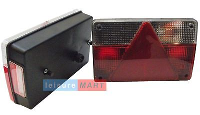 Pair of rear trailer lights lamps for Daxara 147 LMX1887