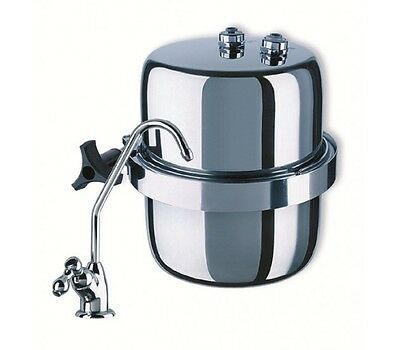 Aquaphor Favourite - Compact Stainless Steel Under-sink Drinking Water Filter