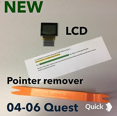 04 05 06 Nissan Quest LCD Screen  Speedometer cluster ,IMPROVED Quest Display