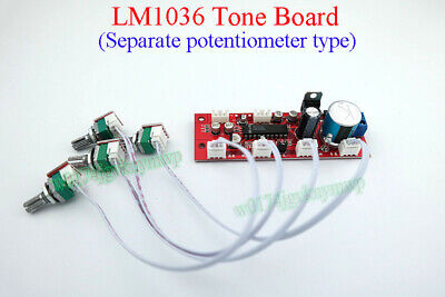 LM1036 Tone Board Separate Potentiometer Type Treble Bass Balance Volume Control