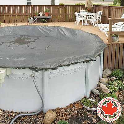 27 ft Round Above Ground Swimming Pool Winter Cover Supreme 15 Year Warranty