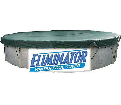 12 Round Above Ground Swimming Pool Winter Cover Heavy Duty Eliminator