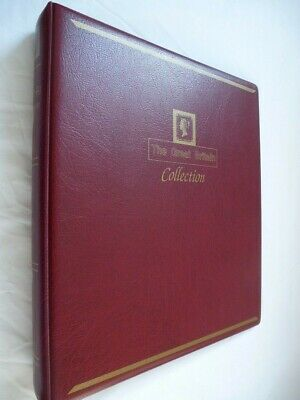 'westminster' Great Britain Luxury Padded Red 4 Ring Album, Excellent Condition