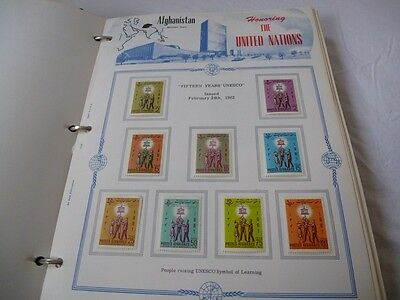 Various United Nations Related Collections In Special Printed Albums