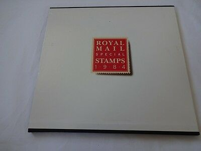 Royal Mail Great Britain Official Year Books With Cover From 1984, No Stamps