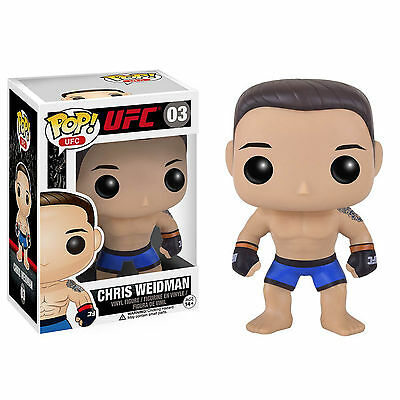 Funko UFC POP Chris Weidman Vinyl Figure NEW Toys Collectibles Ultimate Fighting