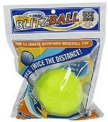 New Blitzball - Plastic Baseball - Wiffle Ball - Training-Trick -Made In USA!!!