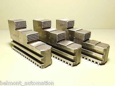 NEW - Lot of 3 Industrial Lathe Workholding Blocks - MPT MTP 1801
