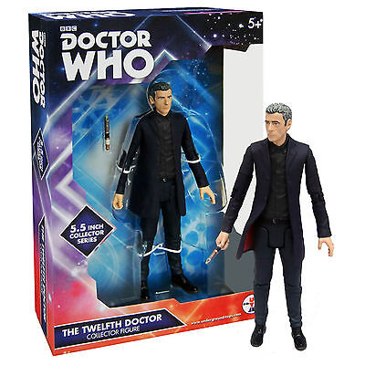 Doctor Who The 12th Doctor Black Shirt Action Figure NEW Toys Twelfth Dr