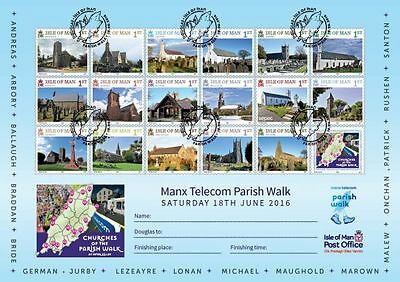 Churches of the Parish Walk Personalised Certificate (UJ95)