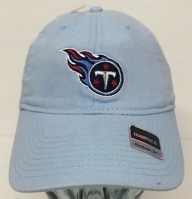 d067dadca8c7fe Tennessee Titans Womens Light Blue Slouch Reebok Hat Cap NWT Adjustable  Strap Os