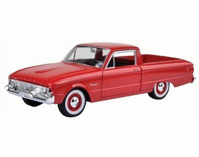 1960 Ford Ranchero Pickup Truck Red Motormax 79321 1/24 Scale Diecast Model Car
