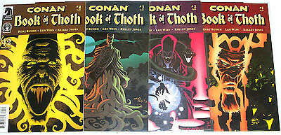 CONAN BOOK OF THOTH #1-4 (NM) Full Set! Dark Horse Comics Robert E. Howard! 2006
