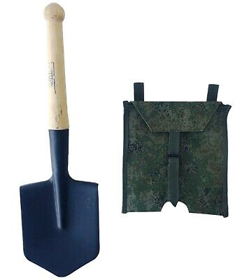 Original ussr soviet russian red army military infantry shovel steel + case