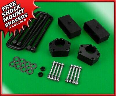 "3"" Front + 2"" Rear Steel Blocks Lift Kit For 1986-1995 Toyota IFS Pickup 4WD 4x4"