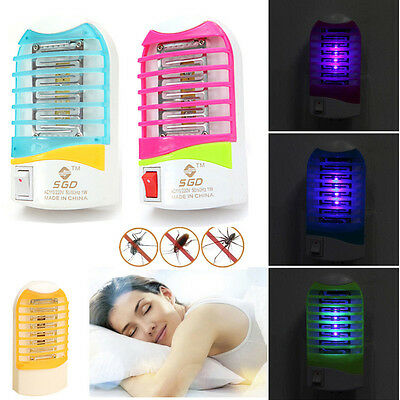 Electronic Mosquito Killer Bug New Hot 4 colors Zapper Indoor Moth Lamp WOW