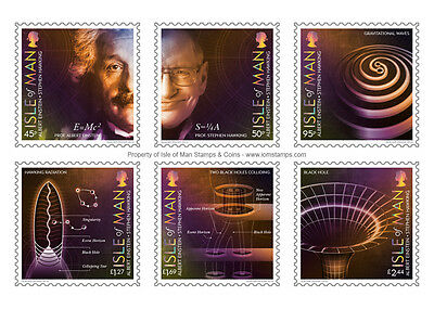 Einstein & Hawking 100 Years of General Relativity Mint Set (UK31)