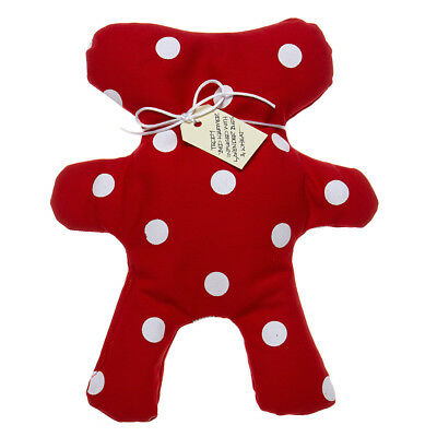 NEW Eastbourne Art Fragrant Teddy Red Spot Heat Pack