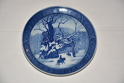 "Royal Copenhagen Collector Porcelain Plate 7"" - 1967 The Royal Oak"