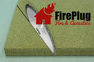 Vermiculite Fire Boards 30 mm, Cut to size, 240 x 270 x 30 mm Special