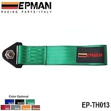 Epman green universal tow rope strap track day race car project car