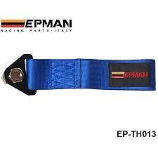 Epman Blue universal tow rope strap track day race car project car