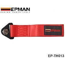 Epman Red universal tow rope strap track day race car project car