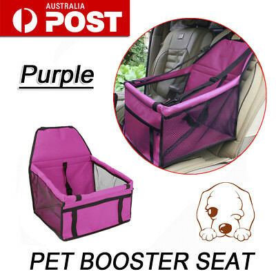 New Portable Pet Puppy Dog Cat Car Seat Travel Carrier Cage Crate Soft Booster
