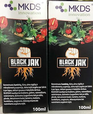 BLACKJAK Humic Fulvic Ulm Acids hight quality soluble concentrate rooting hormo