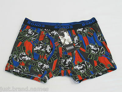Bonds Boys Kids Guy Front Trunk Boxer Shorts Underwear sizes 10 12 14 16