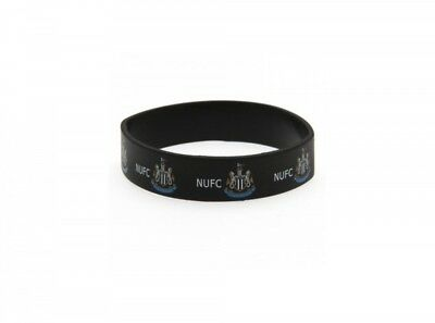 Newcastle United FC Wristband Bracelet Official Fan Black White Football Club