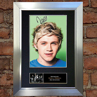 NIALL HORAN No2 One Direction Signed Autograph Mounted Photo A4 Print 316