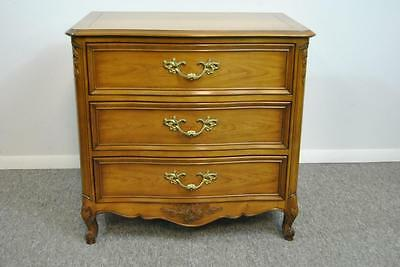Cherry Country French Chateau 3 Drawer Night Stand Chest By Kindel