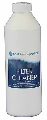Filter Cleaner 1l Swimming Pool Spa Hot Tub