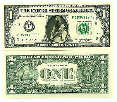 STAR WARS / HOMME DES SABLES - VRAI BILLET DOLLAR US! TUSKEN Collection TATOOINE