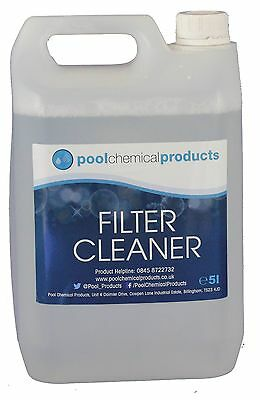 Filter Cleaner 5l Swimming Pool Spa Hot Tub
