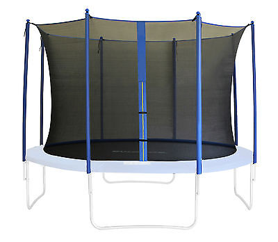 SixBros. Filet de Sécurité Filet Interne Trampoline de jardin blue 185 – 460cm